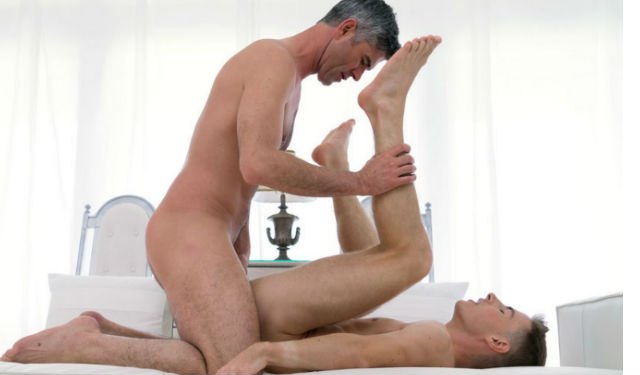 Hot Mormon boy gets fucked by older guy