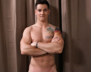 Jack Atlas shows his hot body and big dick
