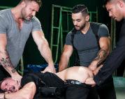 Austin, Arad and Tyler fuck Skyy