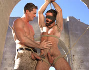 Brendan Patrick gets bound, flogged and fucked