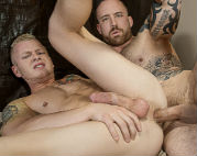 Jordan Levine fucks Leo Luckett RAW