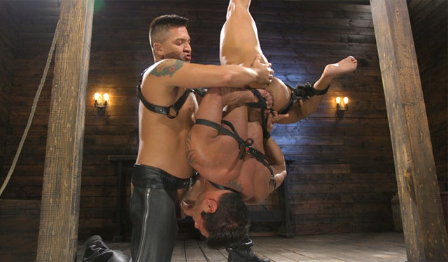 Slave boy Draven Navarro punished by Dominic Pacifico