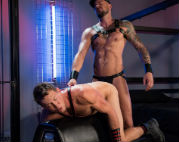 Pierce Paris wants to please his master Dolf Dietrich