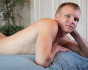 Bulldog Pit: Milo Austin stuffs his ass with a big dildo
