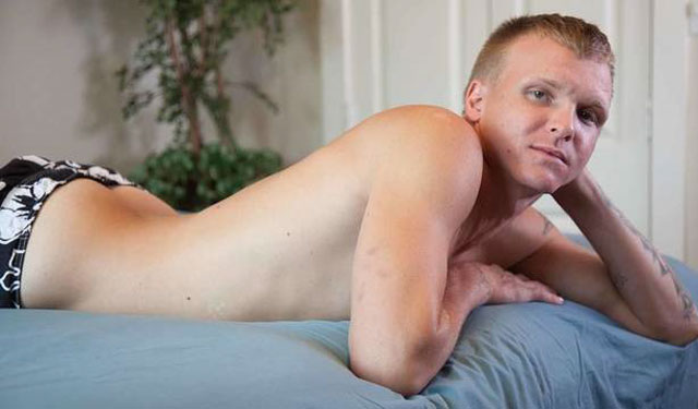 Bulldog Pit: Milo Austin stuffs his ass with a big dildo