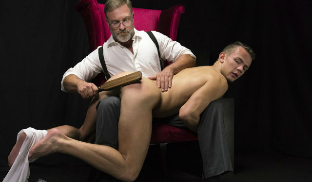 Mormon Boy gets a hot spanking