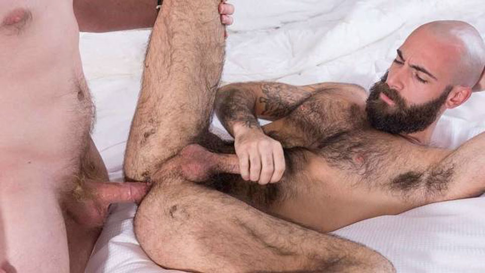 Bareback That Hole: Nate Stetson fucks Stephen Harte