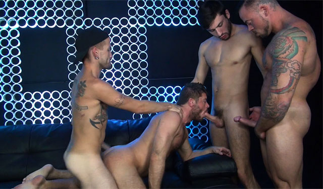 Raw Fuck Club: Jack Andy gets DP'ed