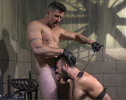 Trenton Ducati punishes slave boy Mason Lear