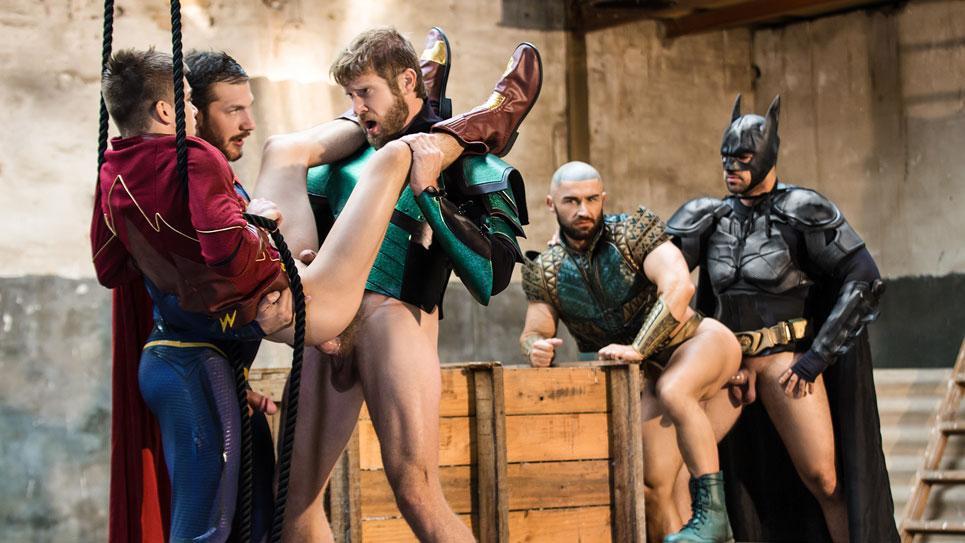 """Justice League"" part 4: A Super Hero orgy"