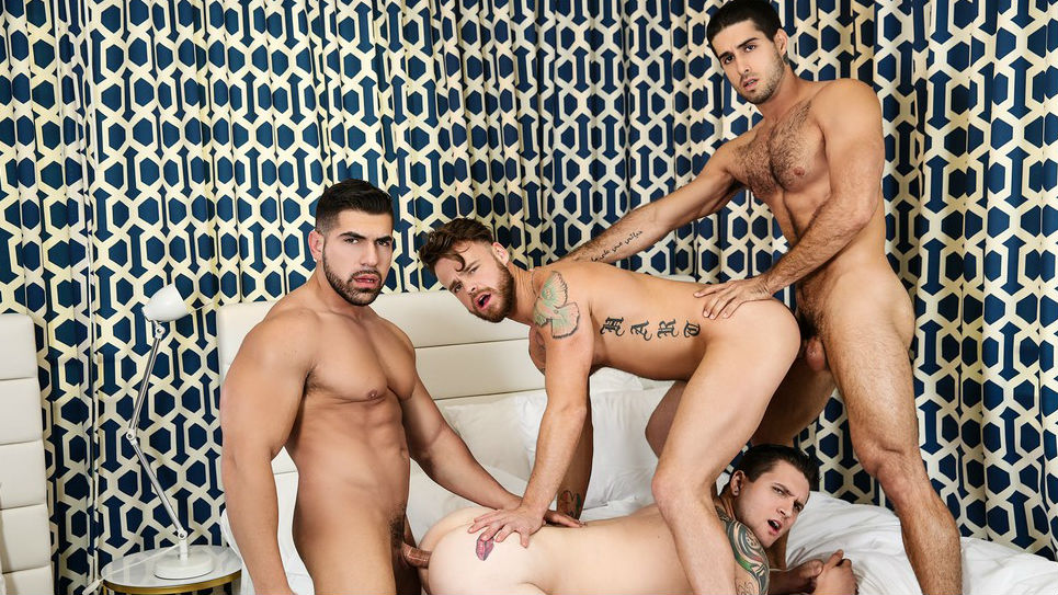 These hunks are hot, horny and ready to get it on