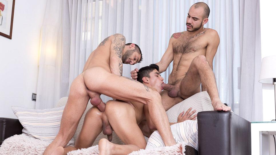 Fuckermate: Alejandro Torres, Patrick Dei and Joaquin Santana