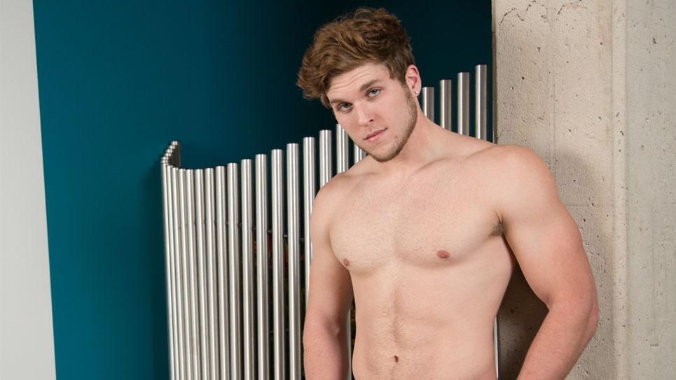 Colton Cain strokes his hard dick for Next Door Studios