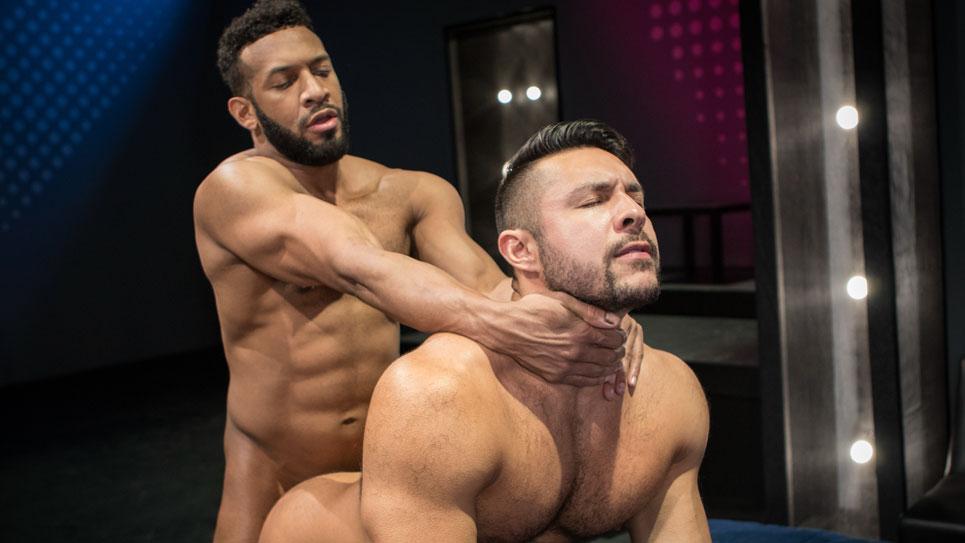 Seth Santoro takes Jay Landford's big uncut cock