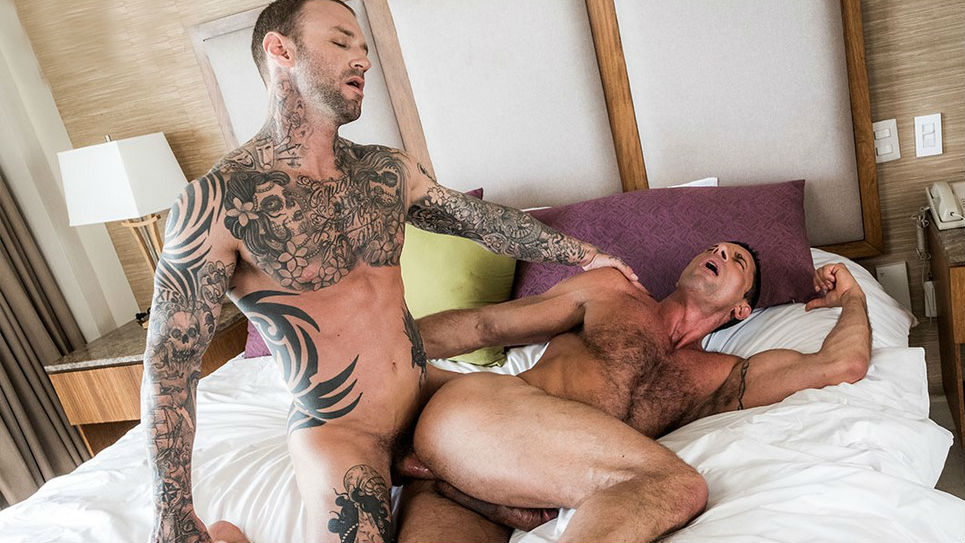 Dylan James is fucking Nick Capra hard and RAW