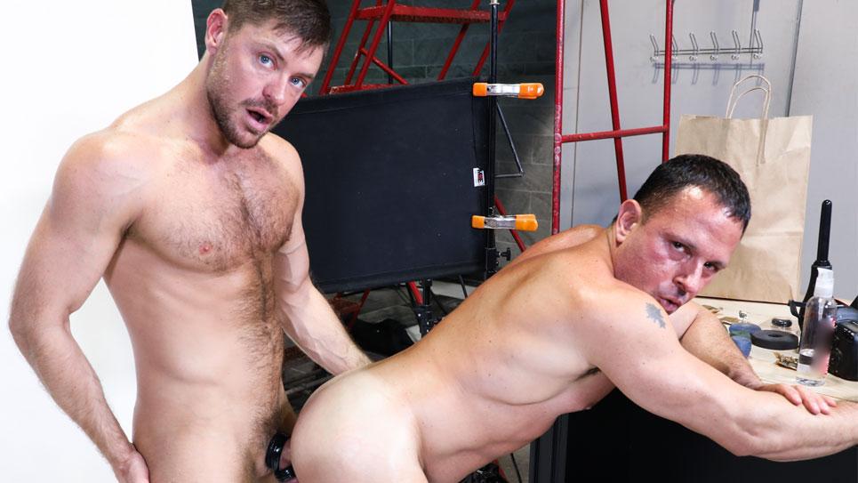 Tony Lazzari bottoms for Jack Andy at Pride Studios