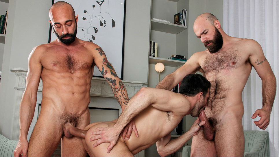 Max Duro, Angelo Curti and Gianni Maggio