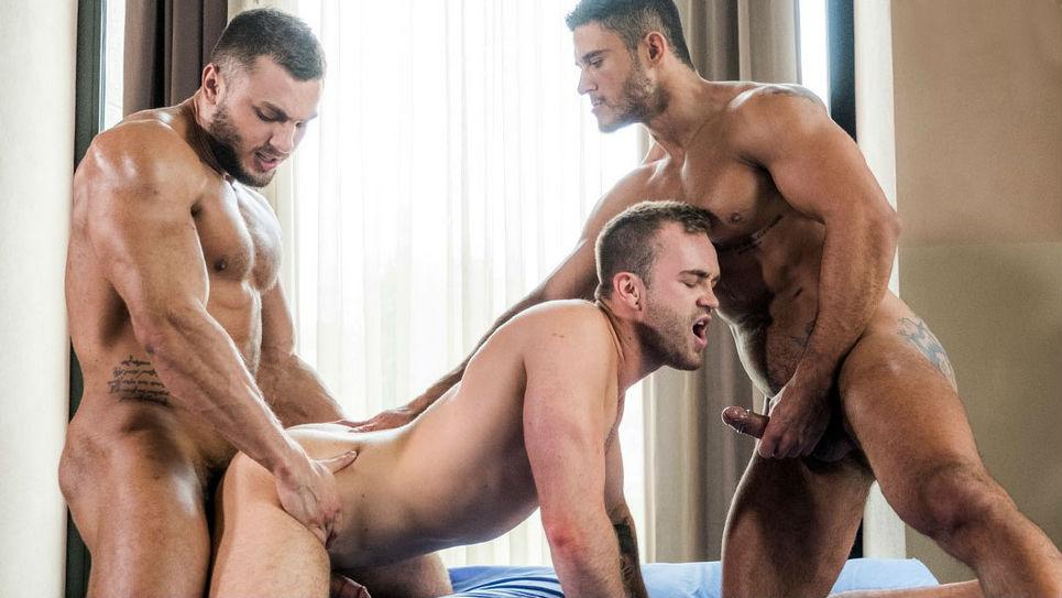 Brock Magnus, Diego Lauzen and Jackson Radiz