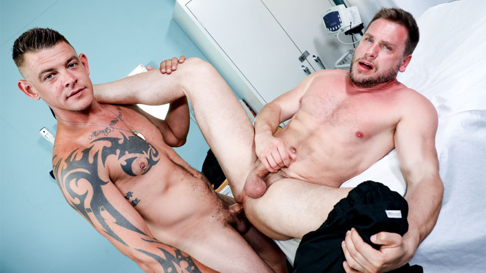 Hans Berlin gets fucked by Jace Chambers at Pride Studios