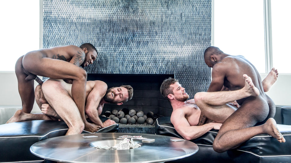 Noir Male: Aaron Reese, Noah Donovan, Ziggy Banks & Kurtis Wolfe
