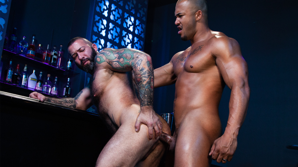 Hairy bottom Alexander Kristov gets fucked by Jason Vario