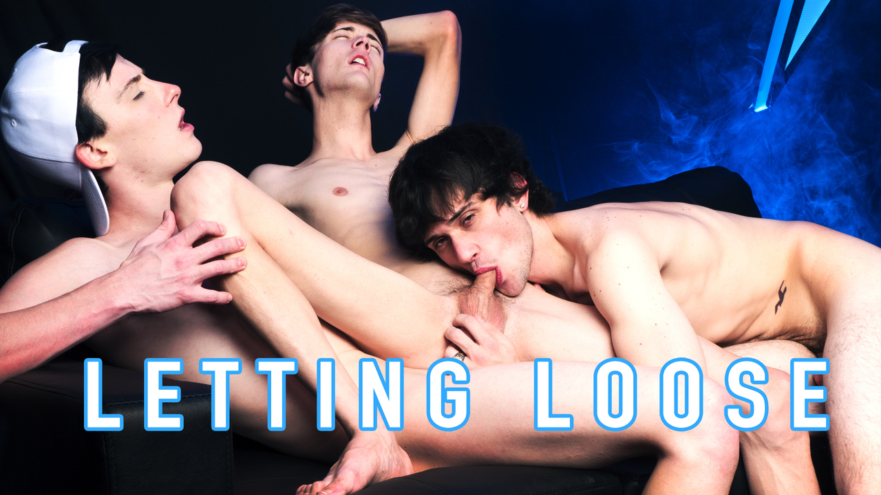 Letting Loose: Adam Strong, Chris Summers and Zack Love fuck