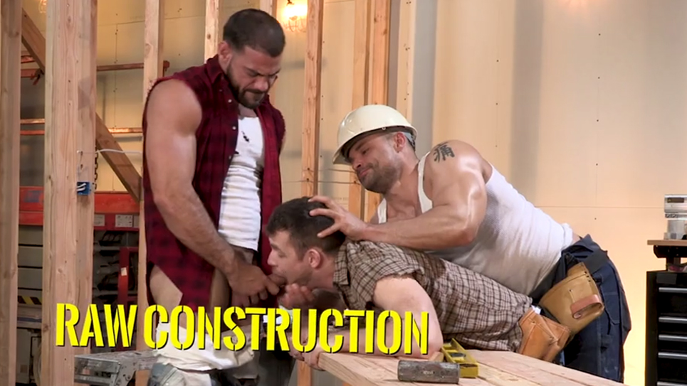 "Full movie preview: ""Raw Construction"" from Raging Stallion"