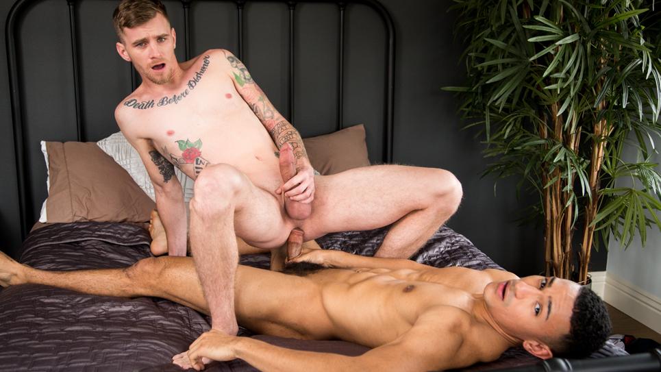 Ryan Jordan takes Zion Nicholas' raw cock at Next Door Studios