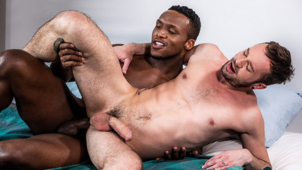 Andre Donovan pounds Drake Rogers' bare ass