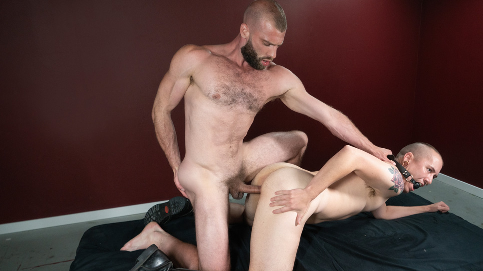Bromo: Donnie Argento dominates and fucks James Darling